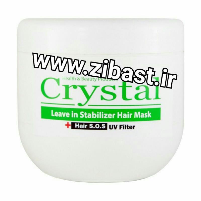 کریستال ماسک موی کاسه ای بدون آبکشی