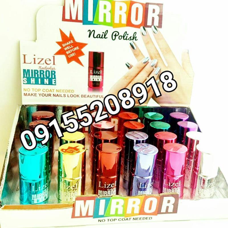 لاک آینه ای لیزل 24تایی