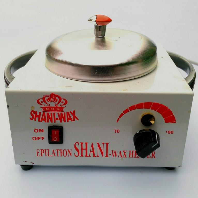 دستگاه وکس قابلمه فلزی